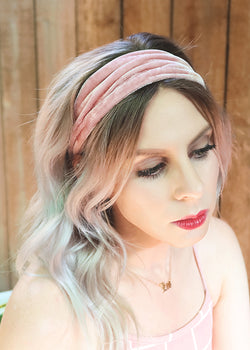Velvet Stretchy Headband