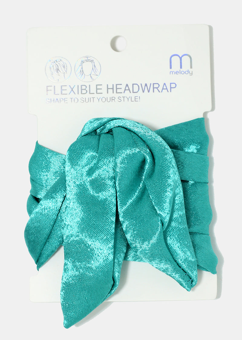 Satin Flexible Headwrap