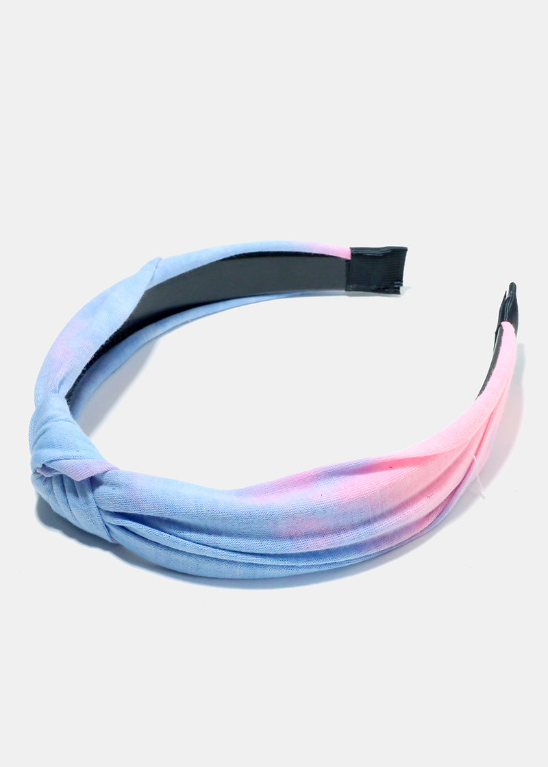 Tie Dye Knotted Headband