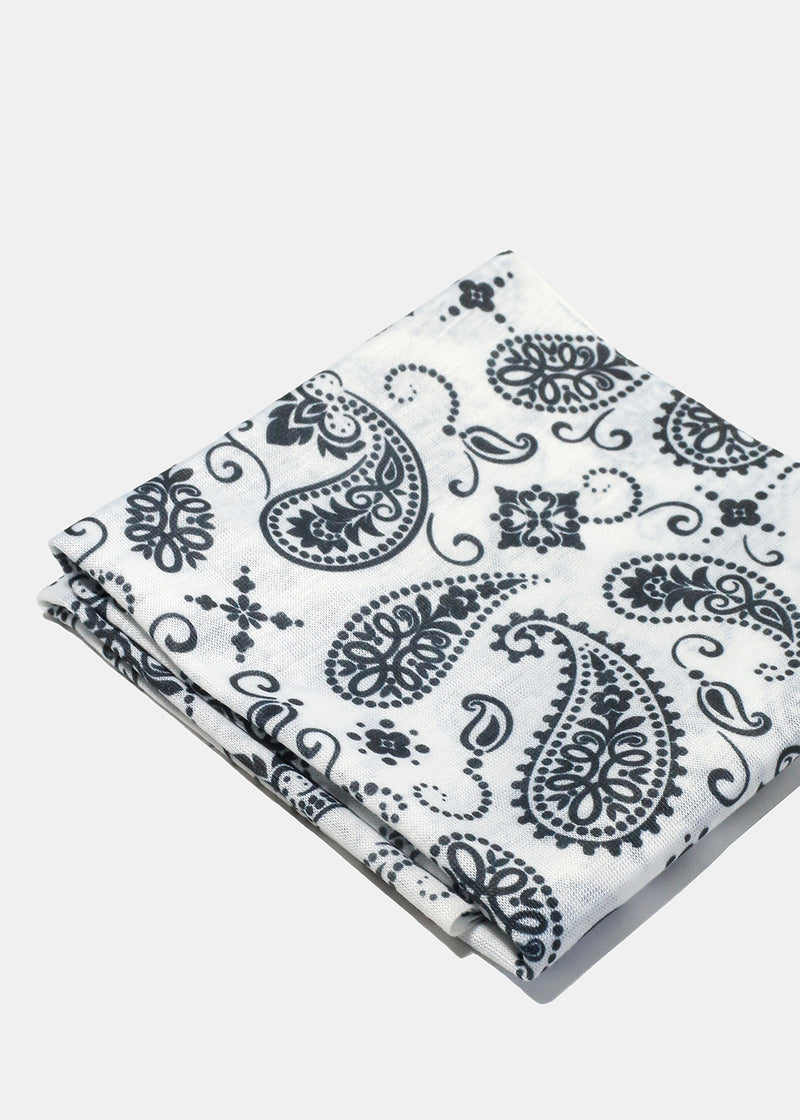 Paisley Multi-Use Face Covering Scarf