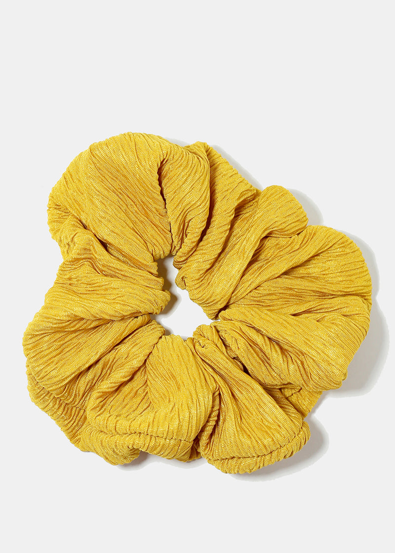 Large Solid Colored Scrunchies