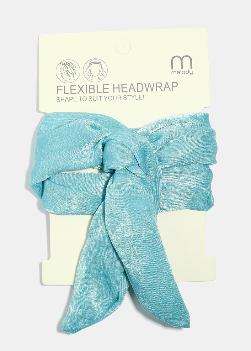 Solid Color Flexible Headwrap