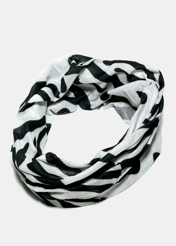 Animal Print Face Covering Neck Gaiter