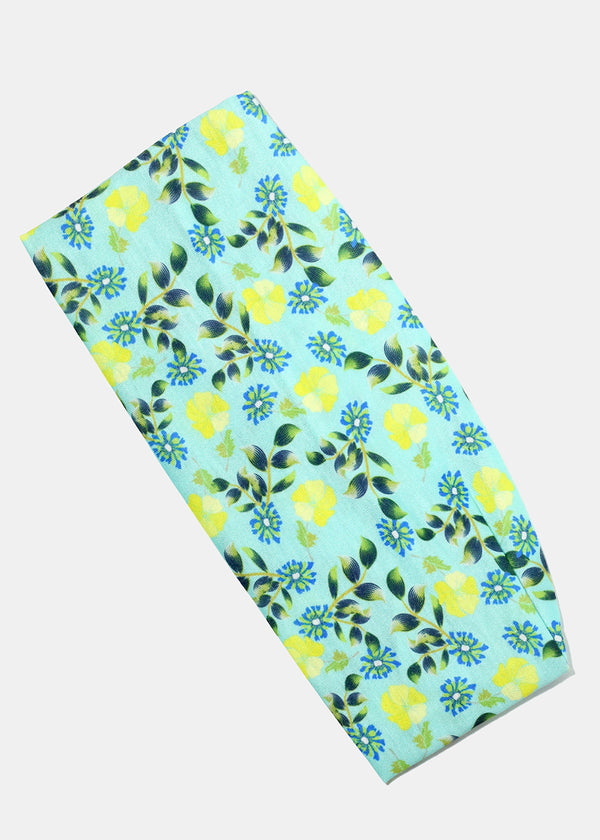 Flower Print Wide Headband