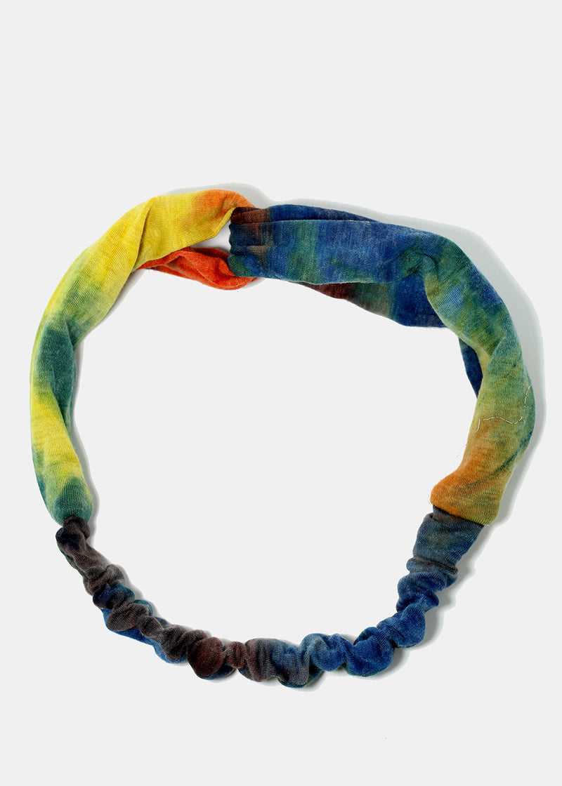 Tie Dye Twisted Knot Headband
