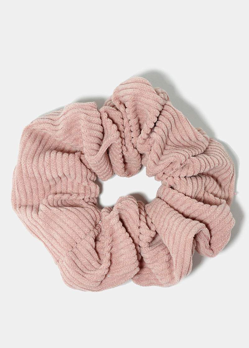 Soft Ribbed Scrunchie