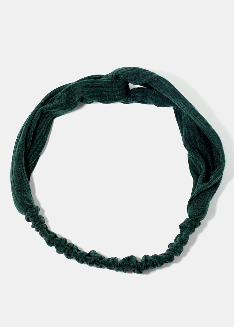 Ridged Twisted Stretch Headband