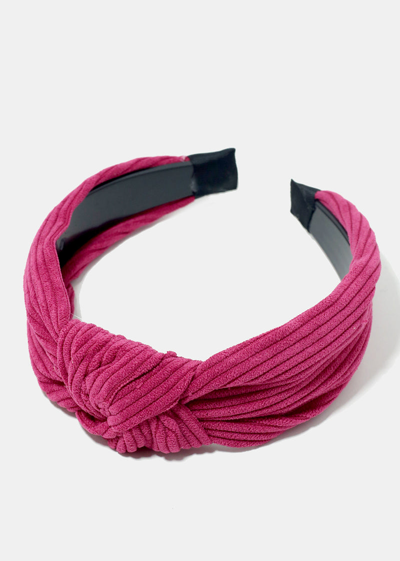 Ridged Knotted Headband