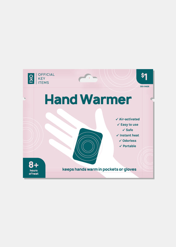 Official Key Items Hand Warmer