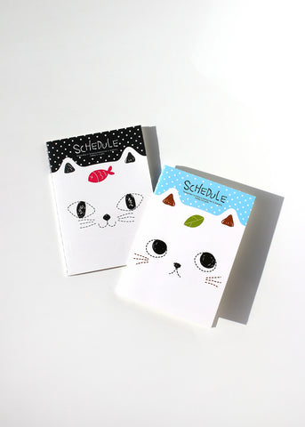 Cat Lined Paper Notebook