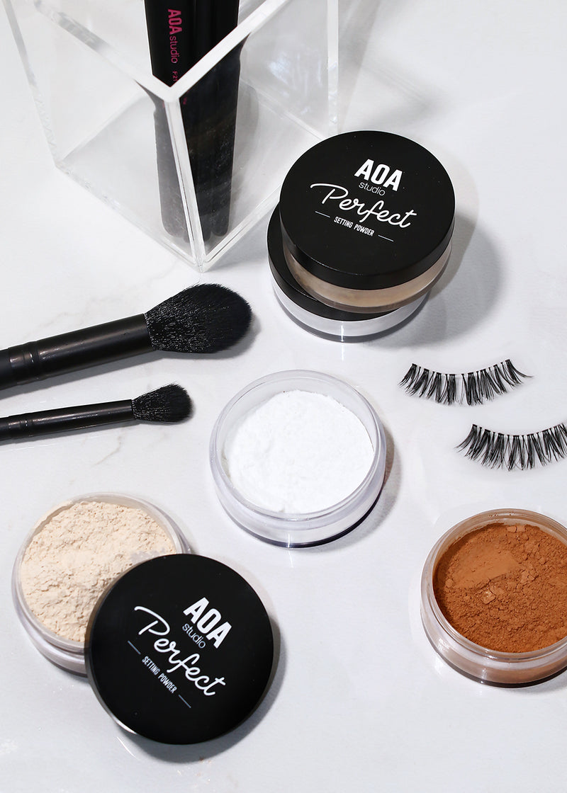AOA Perfect Setting Powder - Matte Translucent