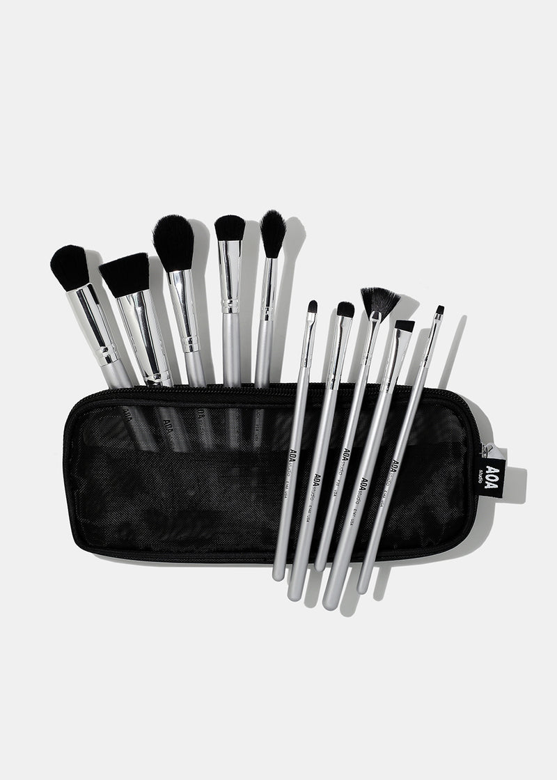 10-Piece Bon Voyage Brush Set