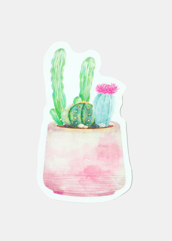 Official Key Items Sticker- Pink Cactus