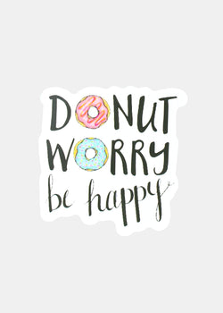 OKI Sticker- Donut Worry