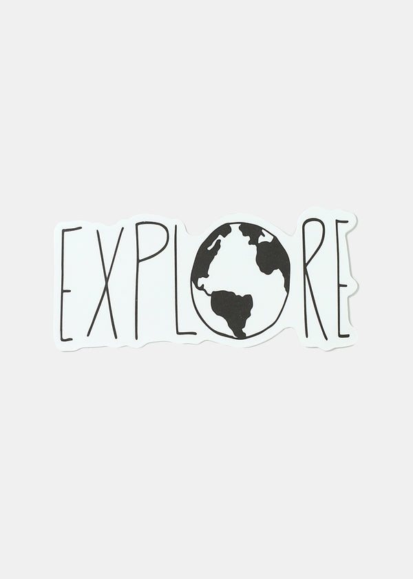 Oki Sticker- Explore