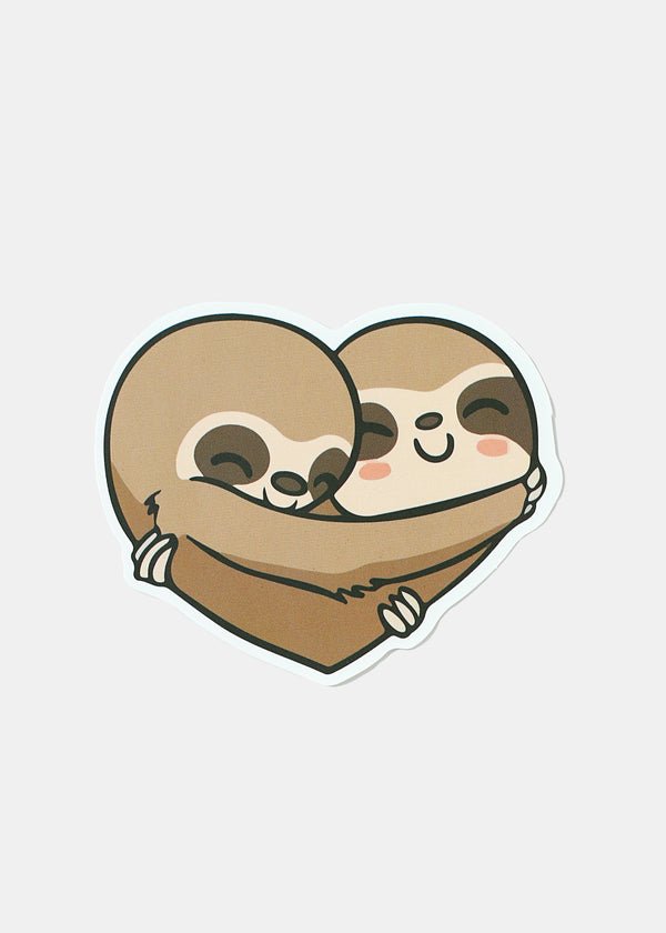 Oki Sticker- Hugging Sloths