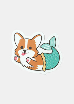 OKI Sticker- Corgie Mermaid