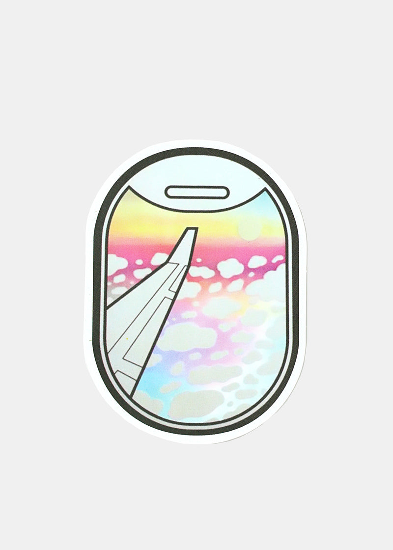 OKI Sticker- Rainbow Clouds