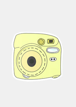 Official Key Items Sticker- Yellow Camera