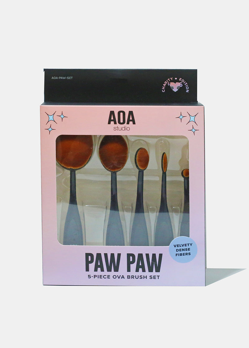 Paw Paw: 5-Piece Ova Brush Set