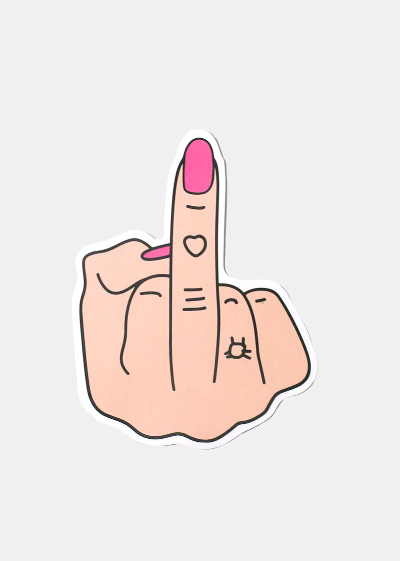 Oki Sticker- The Finger