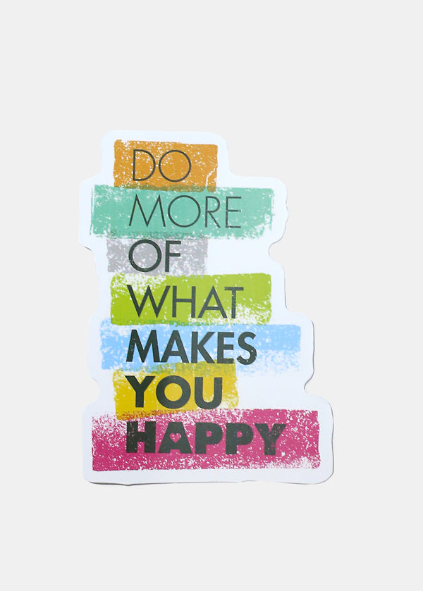 Oki Sticker- Makes You Happy