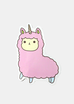OKI Sticker-Cute Unicorn Alpaca