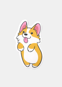 OKI Sticker- Tongue Out Corgie