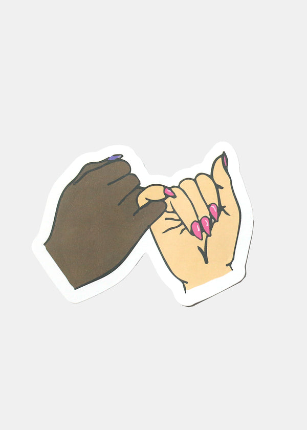 Official Key Items Sticker- Pinky Promise