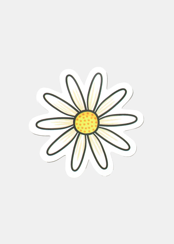 Oki Sticker-Daisy