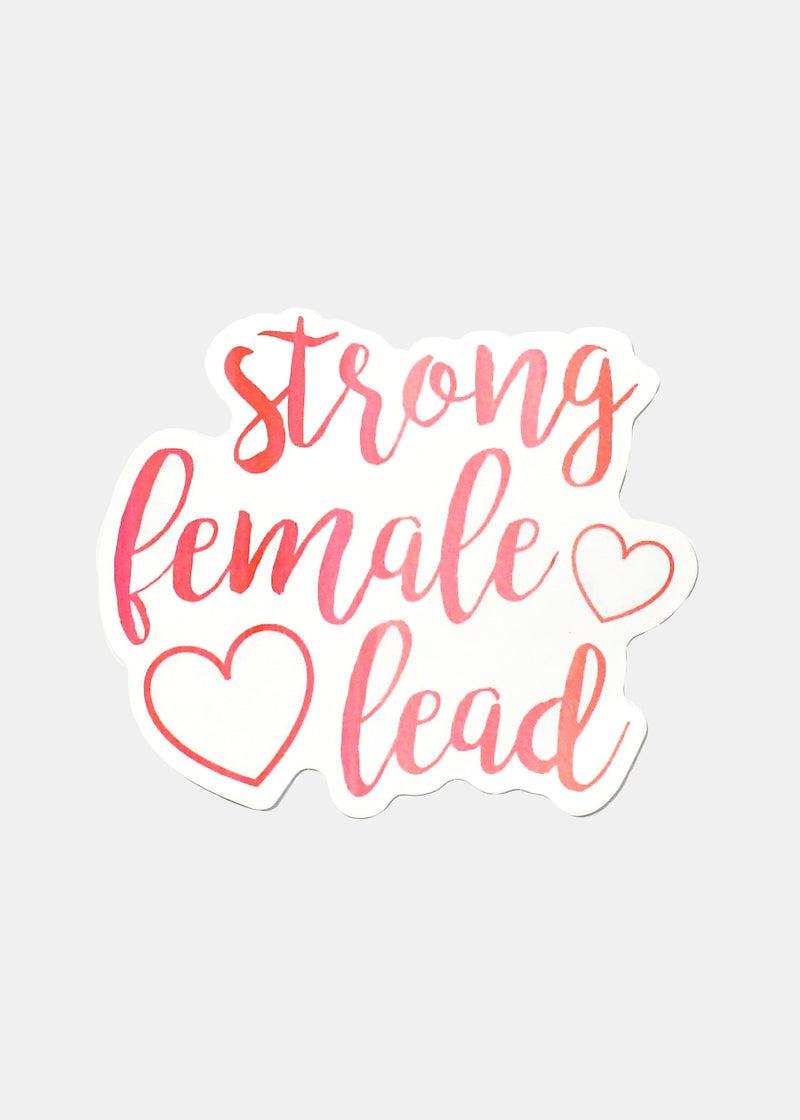 OKI Sticker- Strong Female Lead