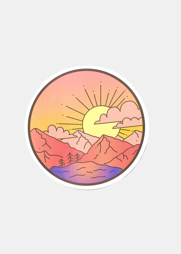 OKI Sticker- Pretty Sunset