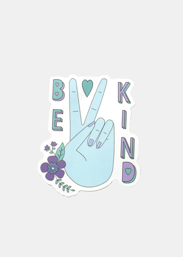 Oki Sticker- Be Kind