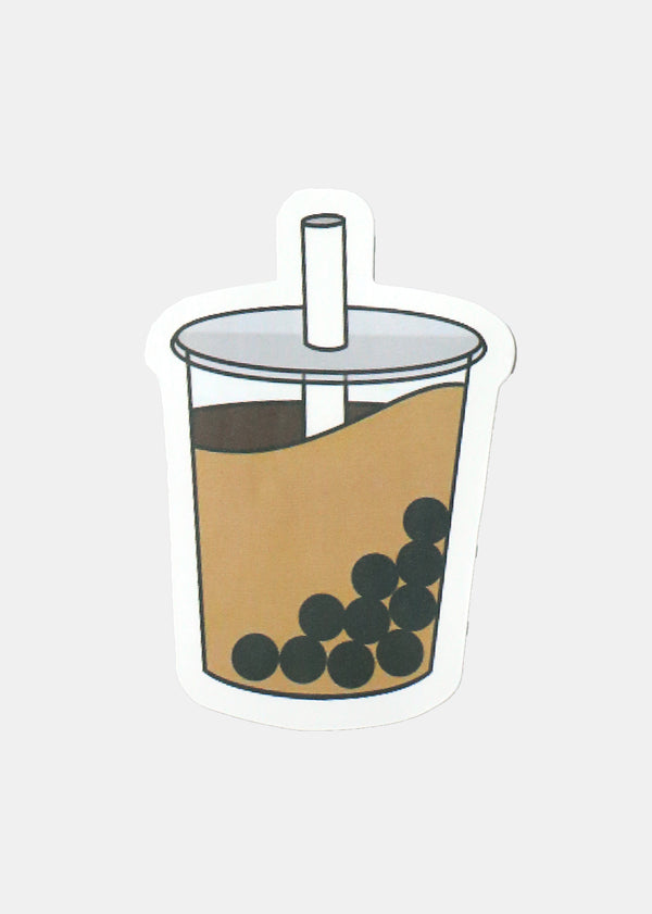 Oki Sticker- I Love Boba