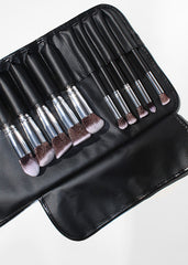 the 10piece hidef brush set  brush roll  shop miss a