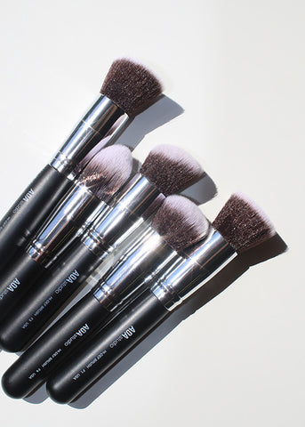 10-Piece Hi-DEF Brush Set + Brush Roll (Best Value)