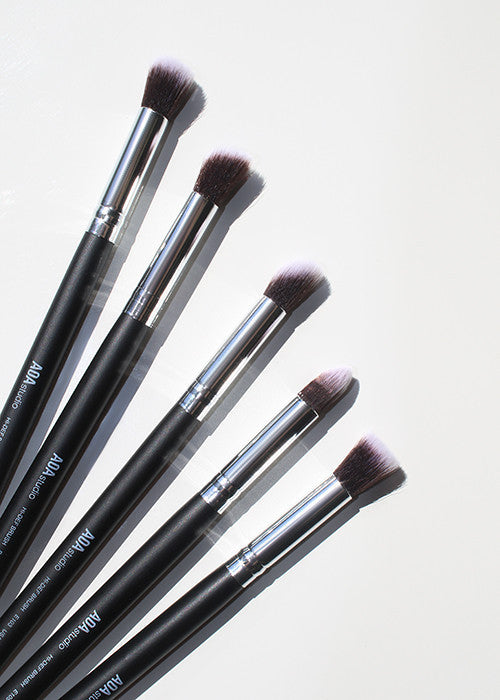The 10-Piece Hi-DEF Brush Set + Brush Roll