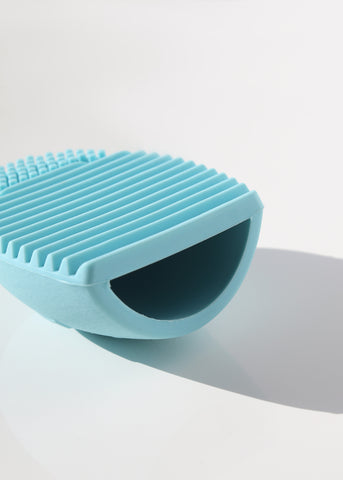 AOA Brush Cleaning Egg - Baby Blue
