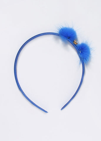 Kids Pom-Pom Gemstone Headband