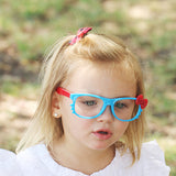 Kids Two Tone Kitty Whiskers Glasses