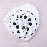 Kids Polka Dot Flower Hat