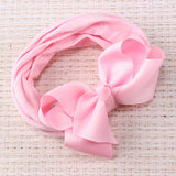 Kids Soft Solid Bow Headband