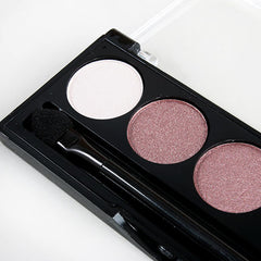 L.A. Colors - 5 Color Metallic Mauve Eyeshadow - Wine & Roses