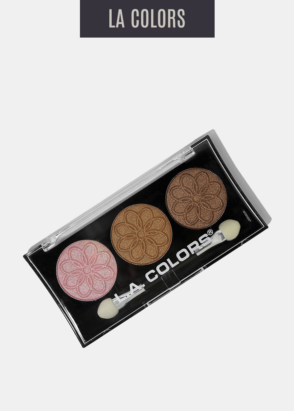L.A. Colors - 3 Color Eyeshadow - Orchid
