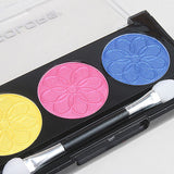 L.A. Colors - 3 Color Eyeshadow - Peony