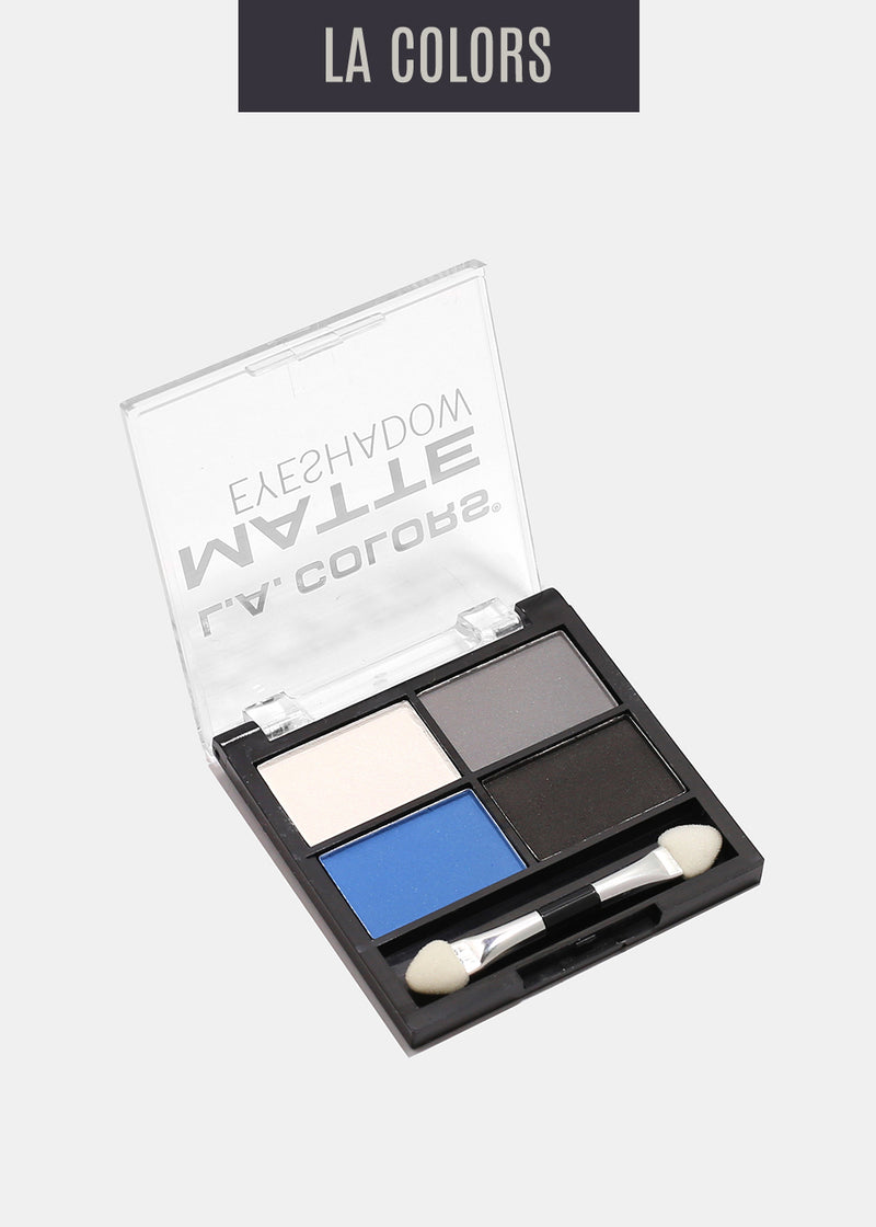 L.A. Colors- 4 Color Matte Eyeshadow- Matt-o-rama