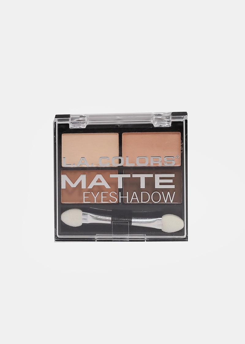 L.A. Colors- 4 Color Matte Eyeshadow- Mattifying