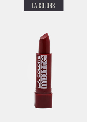 L.A. Colors- Matte Lipstick-  Relentless Red