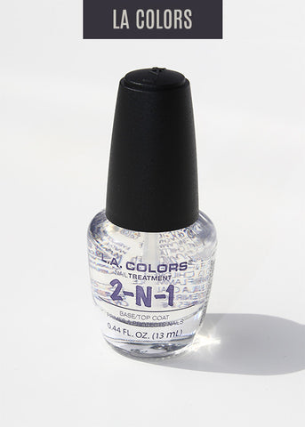 L.A. Colors - Color Craze Nail Polish - 2in1