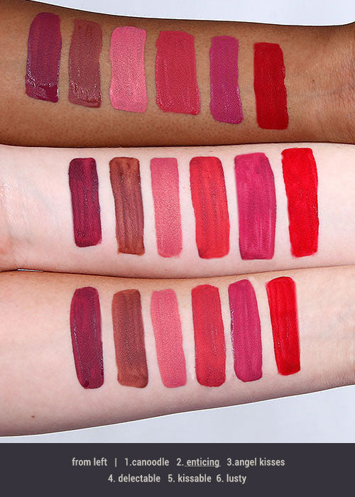 L.A. Colors Liquid Matte Lipstick - Enticing